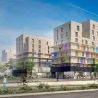 Appart'hôtel Odalys Confluence  À Lyon