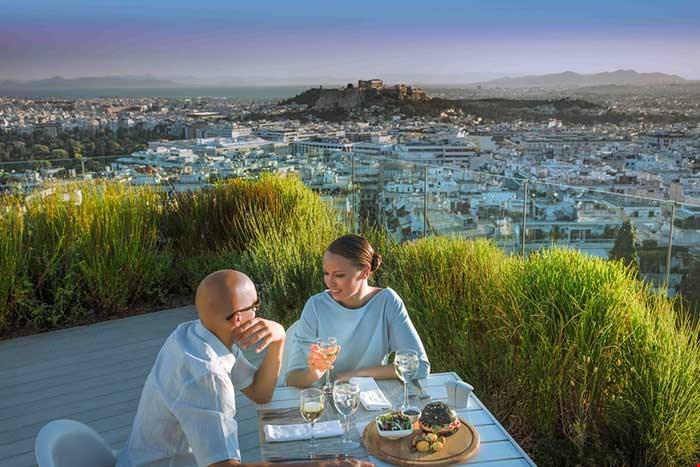 聖喬治利卡維多斯酒 (St George Lycabettus Hotel) + 卡緹吉酒店 (Katikies Santorini) 1
