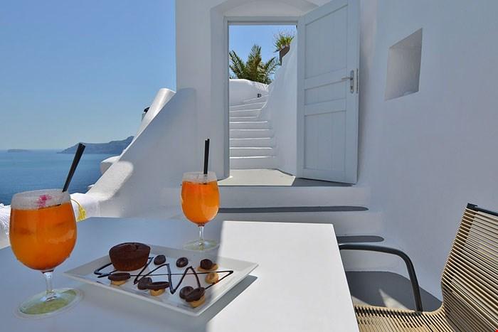 聖喬治利卡維多斯酒 (St George Lycabettus Hotel) + 卡緹吉酒店 (Katikies Santorini) 13