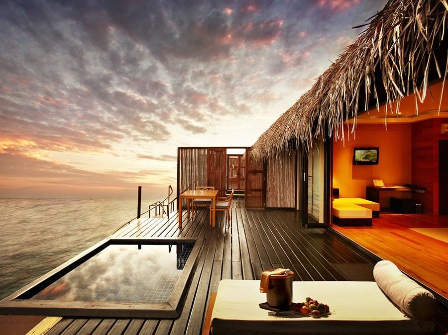馬爾代夫世界頂級水上別墅