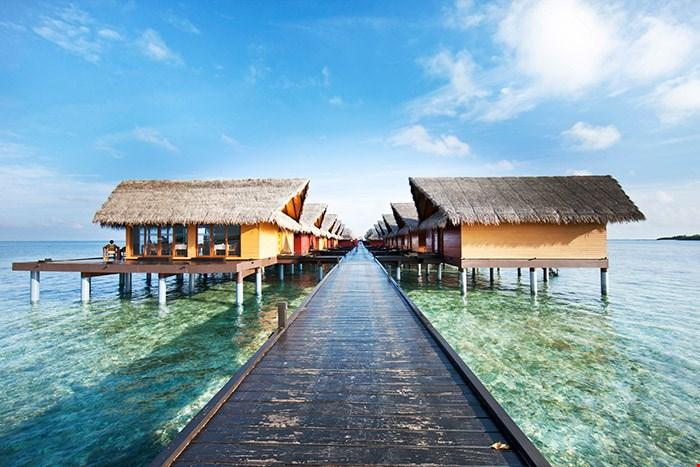 馬爾代夫現代奢華水上屋