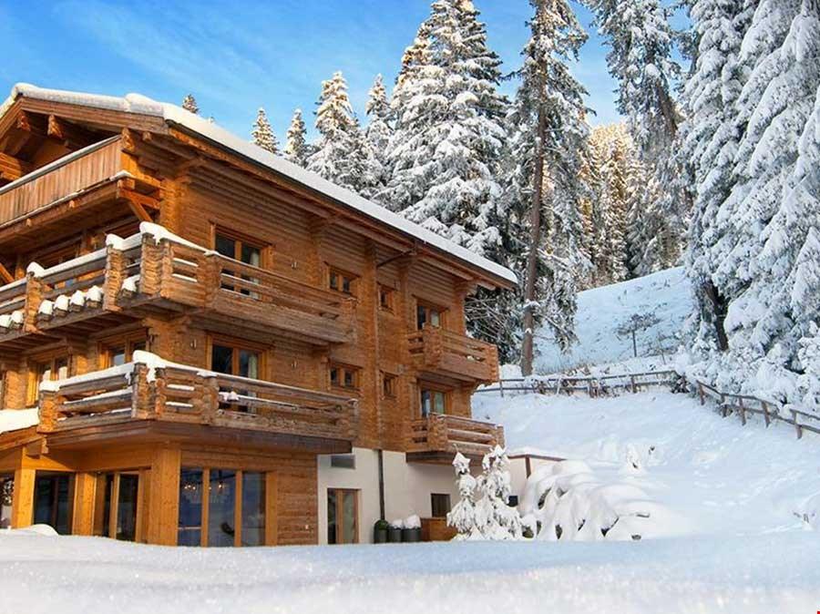 瑞士阿爾卑斯山著名奢華度假別墅